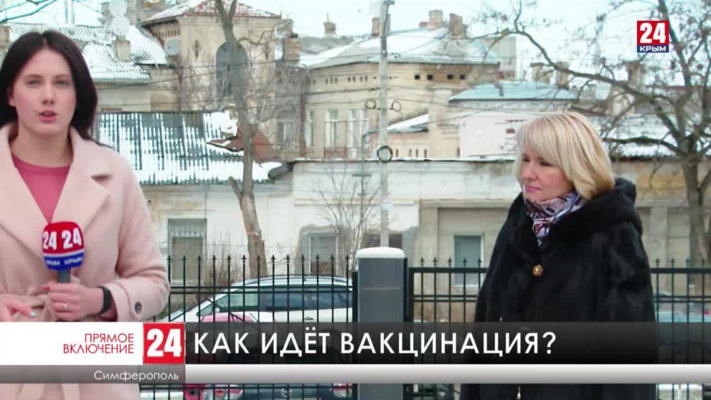 Почти 2,5 тысяч крымчан вакцинировались от коронавируса