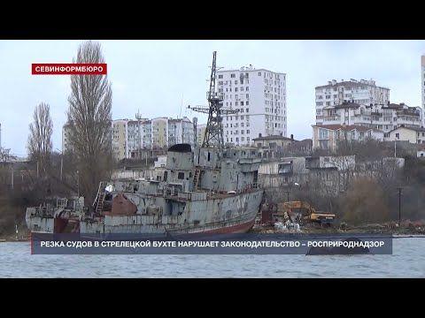Резка судов в Стрелецкой бухте нарушает природоохранное законодательство – Росприроднадзор