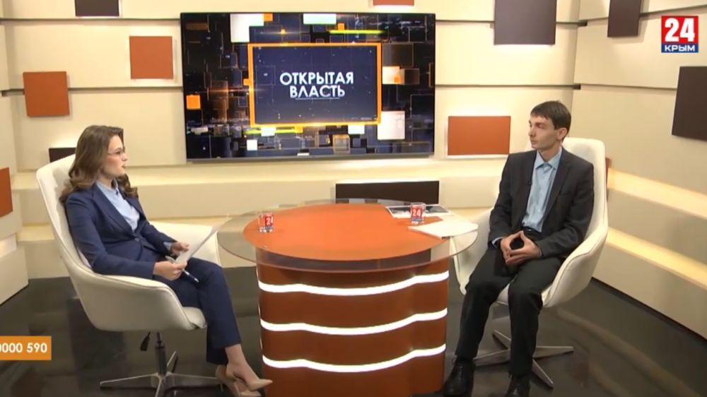 Роман Шантаев принял участие в программе Открытая власть на Крым24