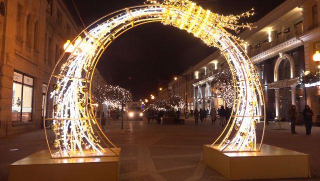Какие праздничные инсталляции останутся в Симферополе на весь год