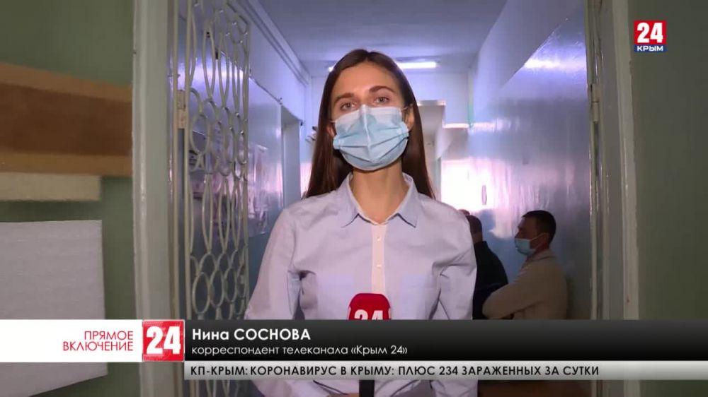 В Феодосии стартовала массовая вакцинация от COVID-19