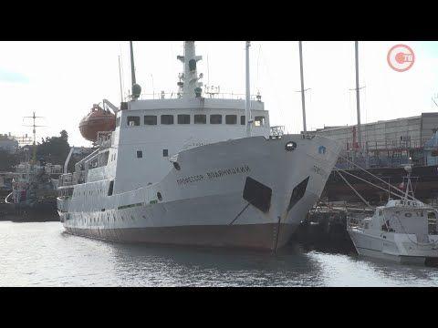 Научно-исследовательское судно «Профессор Водяницкий» отметит в этом году юбилей (СЮЖЕТ)