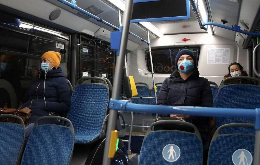 В Севастополе проверяют соблюдение масочного режима в общественном транспорте