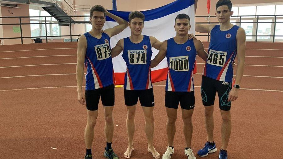 Все медали крымских легкоатлетов на соревнованиях в Краснодаре