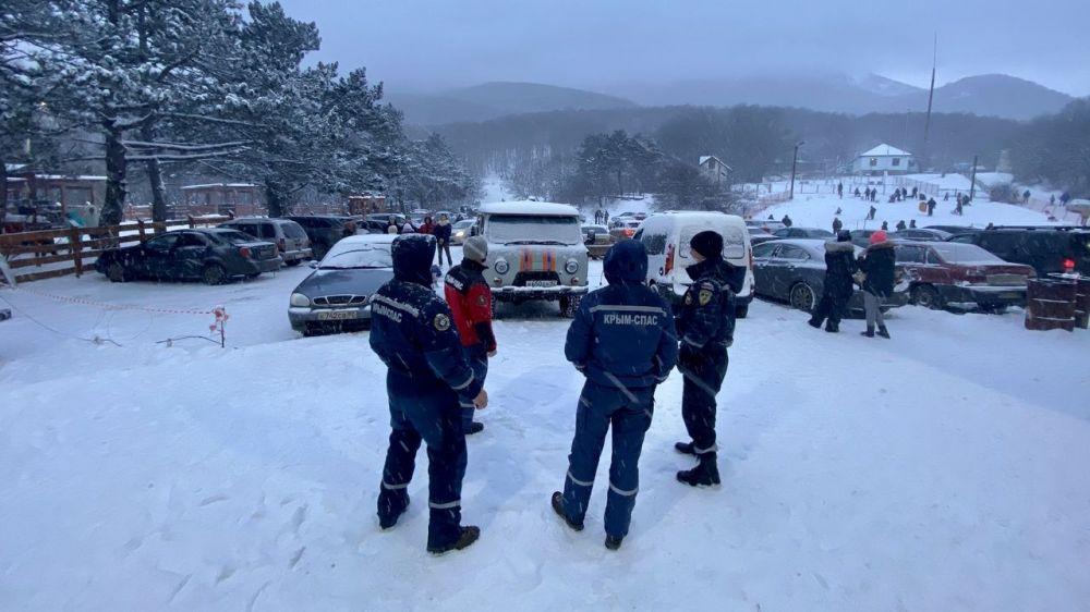 В выходные на плато Ай-Петри и на Ангарском перевале в Крыму будут дежурить спасатели