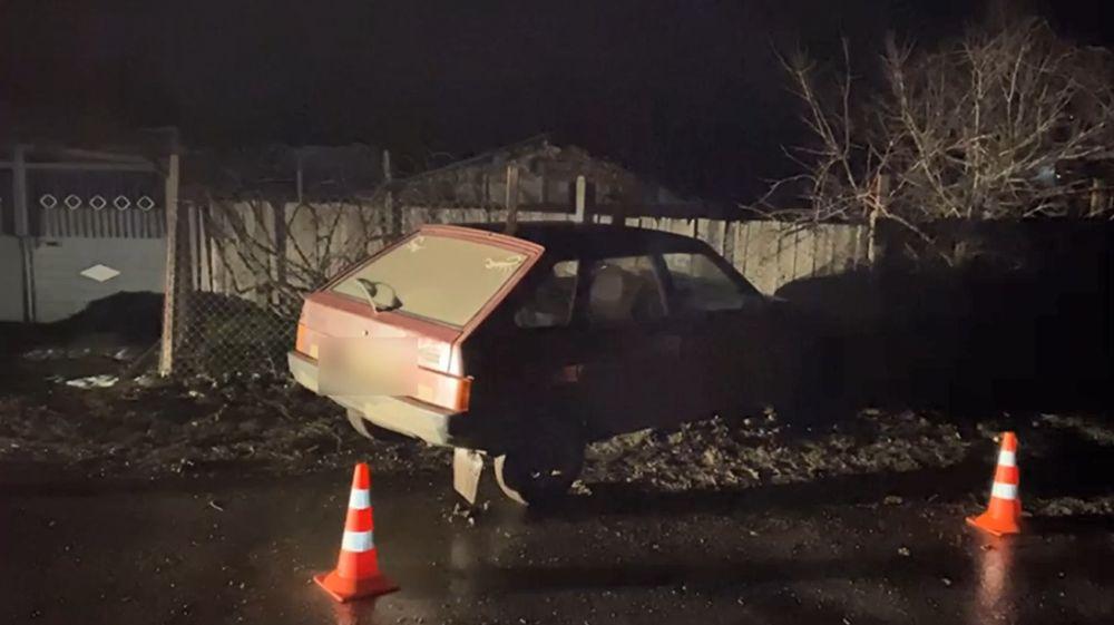 В Крыму пьяный водитель сбил на тротуаре двух пешеходов