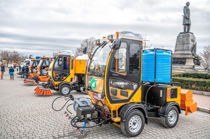 По «московскому соглашению» Севастополь обновил 15% коммунальной техники