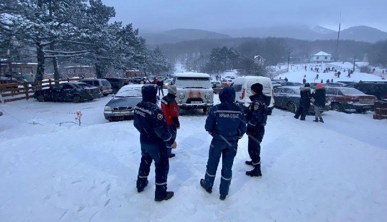 Спасатели организовали дежурство на Ай-Петри и Ангарском перевале