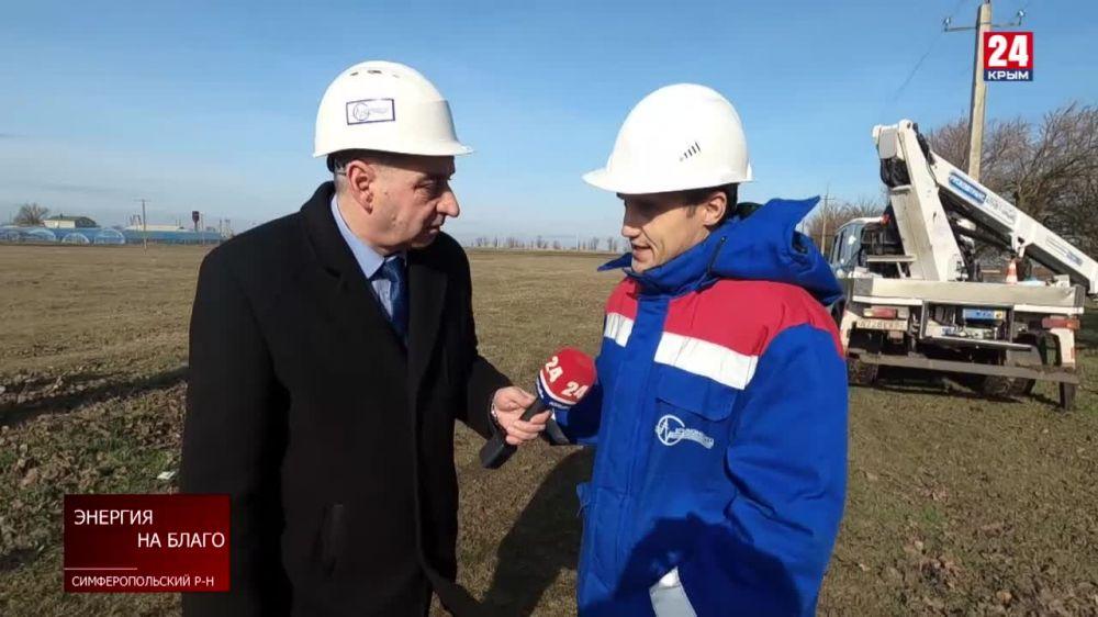 В Крыму установлен рекорд в энергопотреблении в зимний период