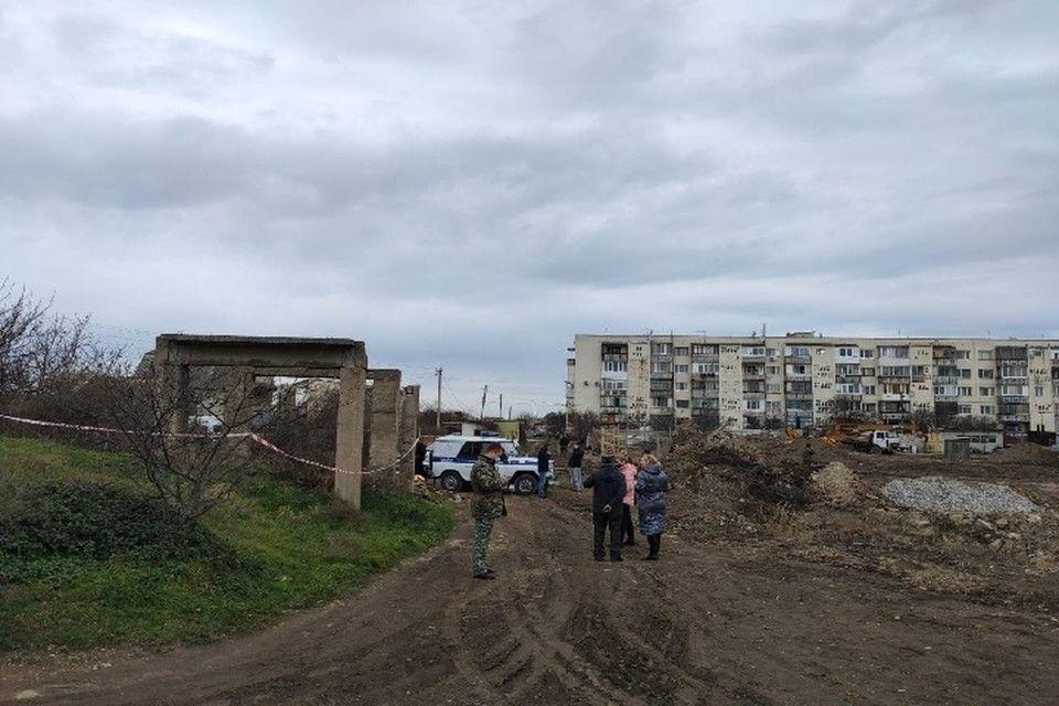 Под Севастополем обрушилась бетонная плита и насмерть задавила подростка