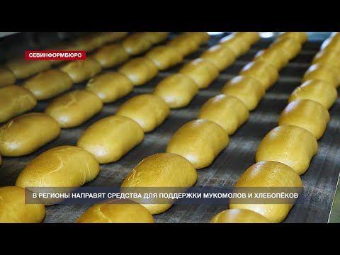 В российские регионы направят средства для поддержки мукомолов и хлебопёков