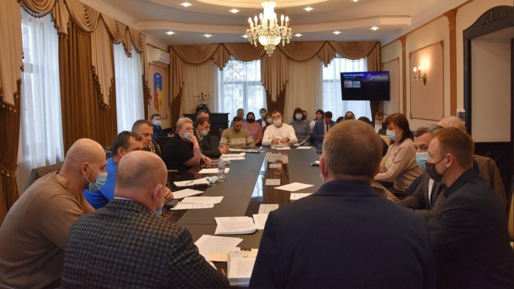 В Бахчисарайском городском совете состоялась 23-я внеочередная сессия
