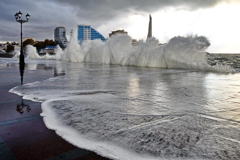 Прогноз погоды на 25 января: в Крыму и Севастополе штормовой ветер и небольшой дождь