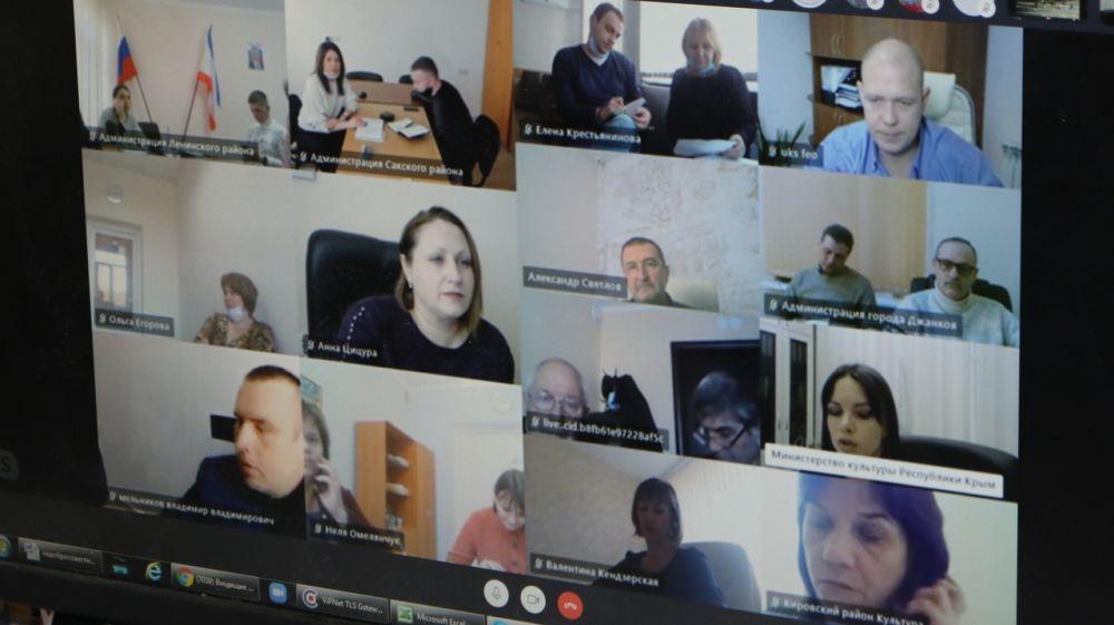 Проведены рабочие совещания по вопросам выполнения строительно-монтажных работ на объектах капремонта учреждений культуры