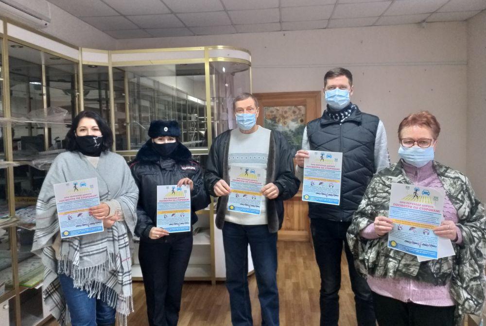 Госавтоинспекторы Красногвардейского района напоминают работникам и водителям предприятий о необходимости соблюдения ПДД