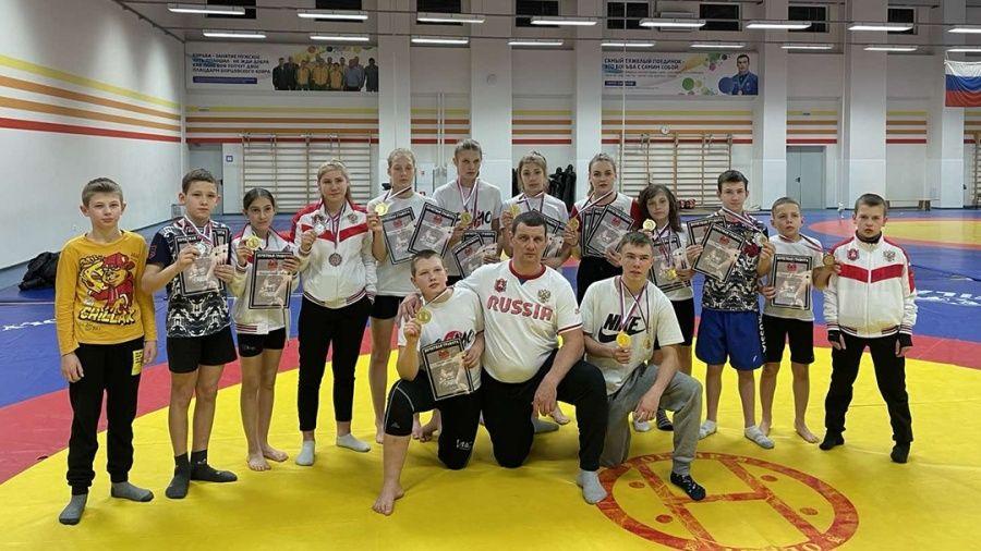 Ялтинские сумоисты завоевали россыпь медалей н региональных соревнованиях в Краснодаре
