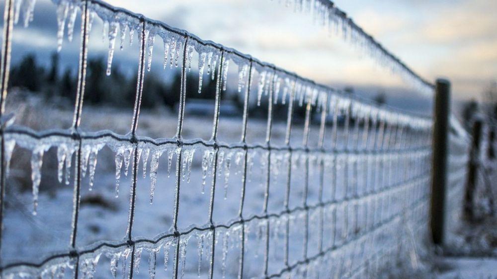 На севере Крыма из-за мокрого снега объявлено штормовое предупреждение