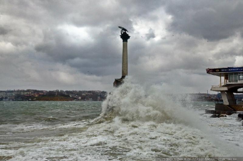 В Севастополе прогнозируется усиление ветра — объявлено штормовое предупреждение