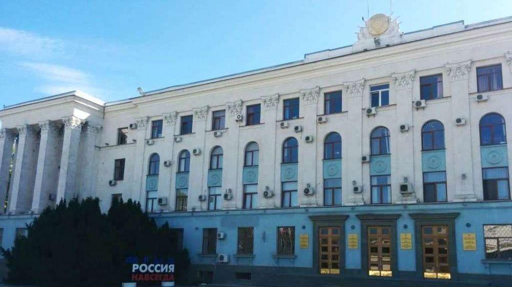 Лариса Кулинич приняла участие в первом в 2021 году заседании Совета министров Республики Крым