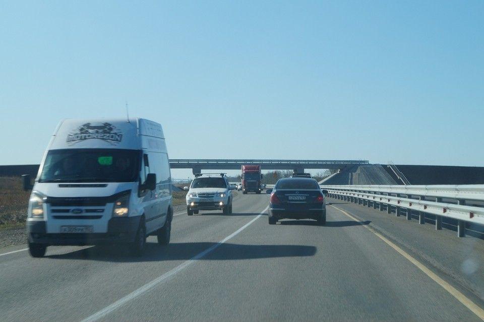 Из Краснодара до Крымского моста построят новую 4-полосную автотрассу