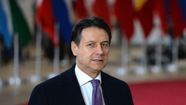 Премьер-министр Италии Джузеппе Конте подал в отставку