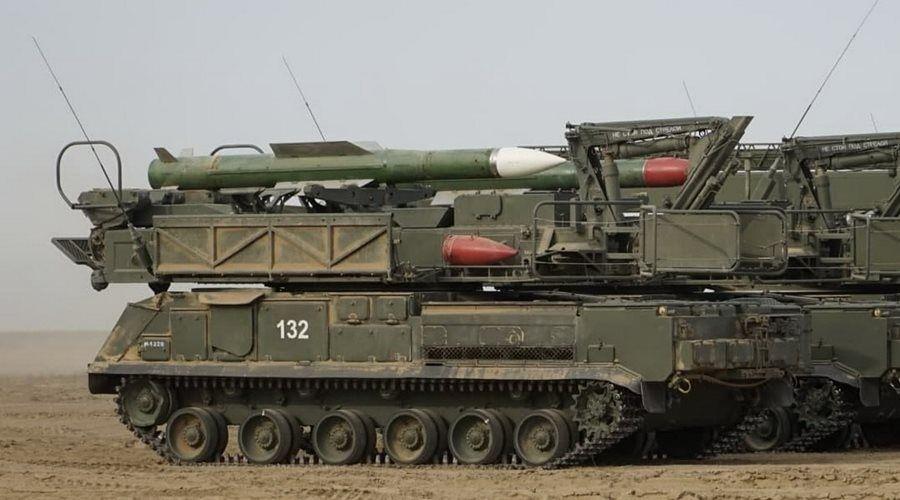 Южный военный округ получит новейшие зенитно-ракетные комплексы