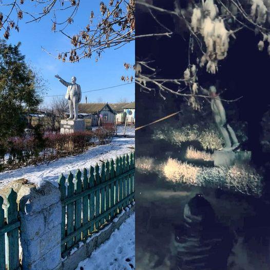 На Украине порадовались сносу последнего памятника Ленину