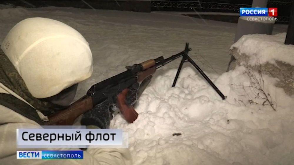 Над воинской частью в Североморске перехватили беспилотник террористов в ходе учений