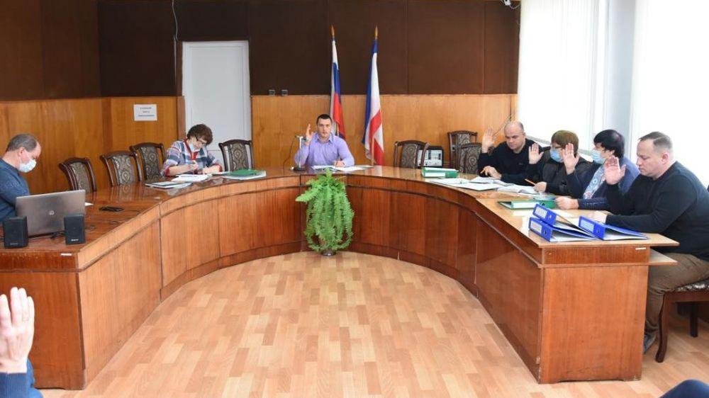 В Красноперекопском городском совете состоялась 38 очередная сессия