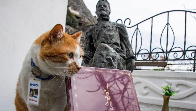 Дом у моря: Как кот Мостик на день рожденья к Чехову ходил