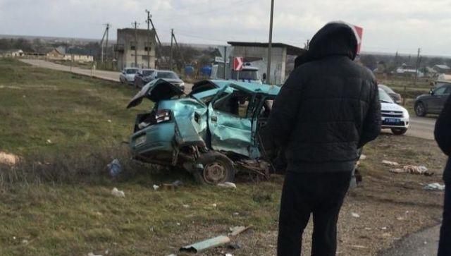 ДТП в Черноморском районе: один человек погиб и двое пострадали