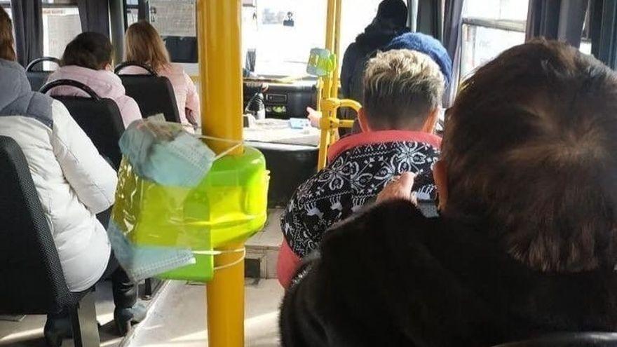 «Максимальная защита валидаторов от людей»: в столице Крыма масочный режим в общественном транспорте соблюдают не только жители