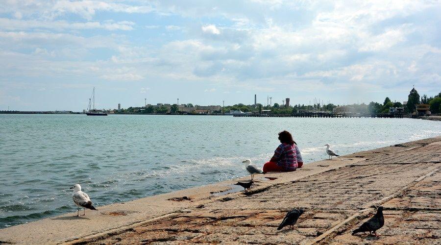 Реконструкция набережной Терешковой в Евпатории возобновится в сентябре