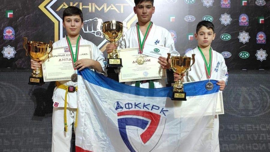 У крымских каратистов – три медали на турнире в Грозном