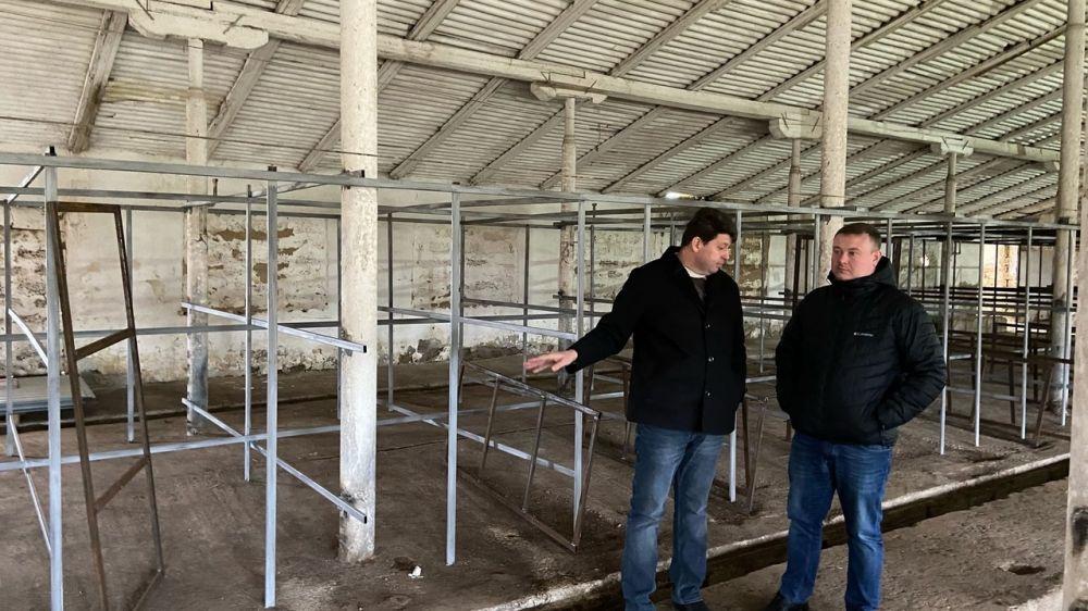 Председатель Госкомветеринарии Крыма Валерий Иванов посетил Сизовское отделение ГБУ РК «Республиканский ВЛПЦ»