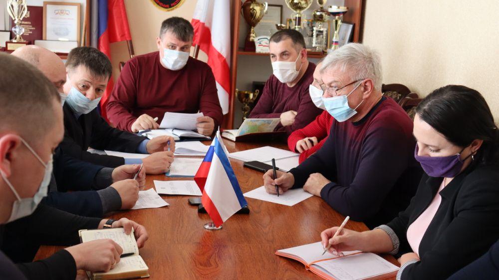 Состоялось заседании штаба мо Сакский район по реализации мероприятий ФЦП «Социально -экономическое развитие Республики Крым и г. Севастополя до 2024 года»