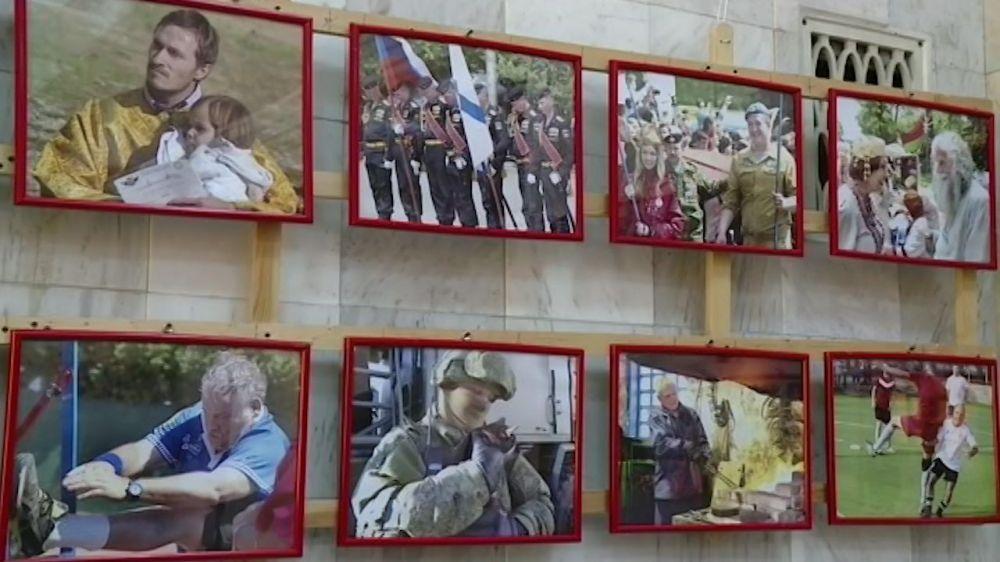 В Севастополе открылась фотовыставка Сергея Горбачёва, посвященная Русской весне
