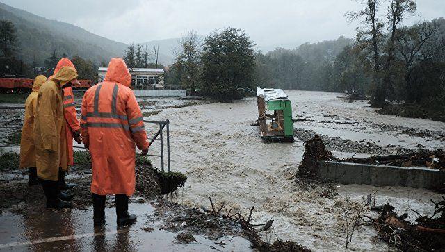 В Краснодаре ожидают подтопления из-за подъема уровня рек