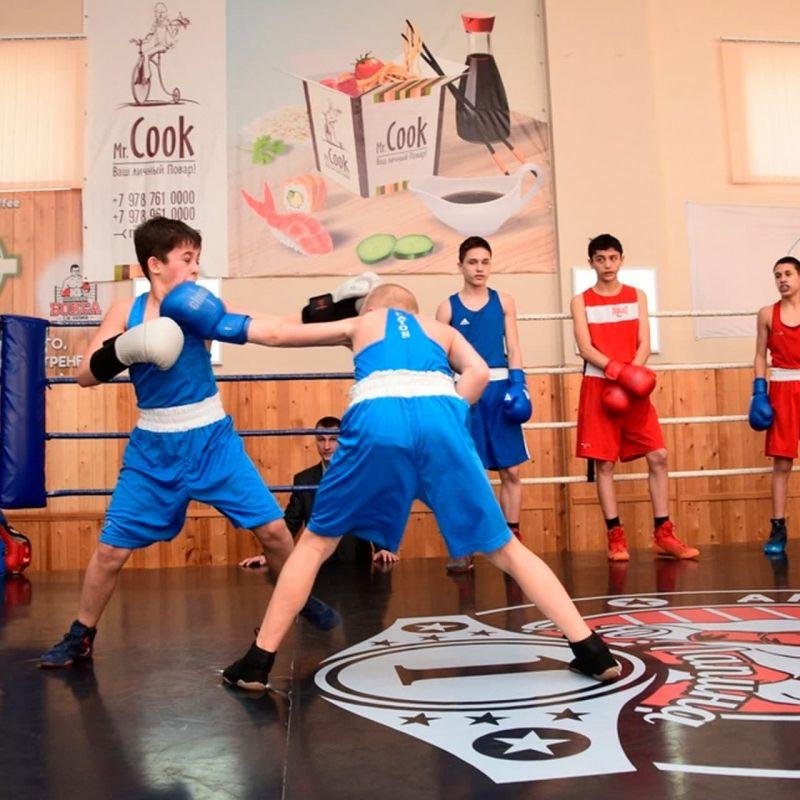 Новую спортивную школу бокса открыли в Симферополе