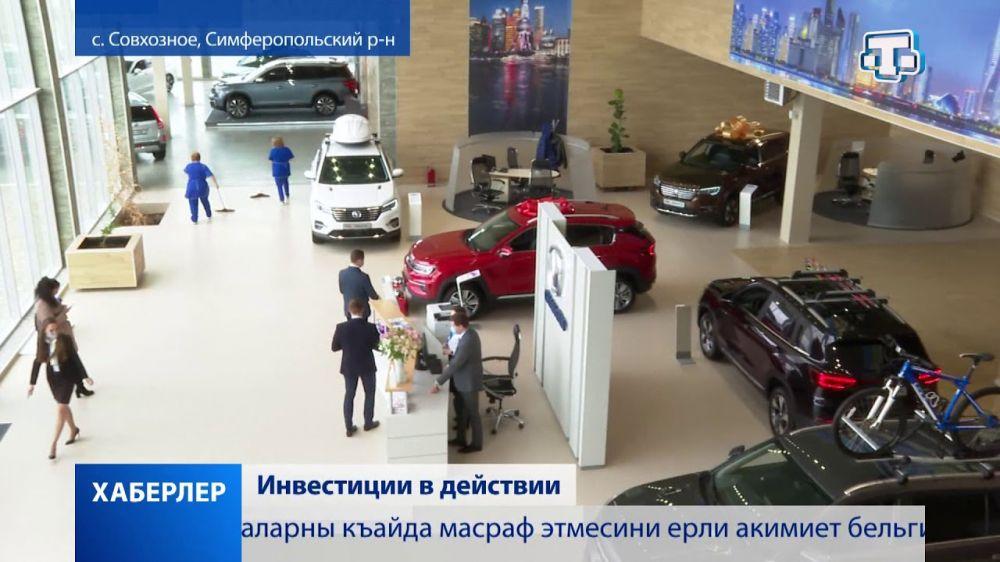 В Крыму реализуется 202 инвестпроекта