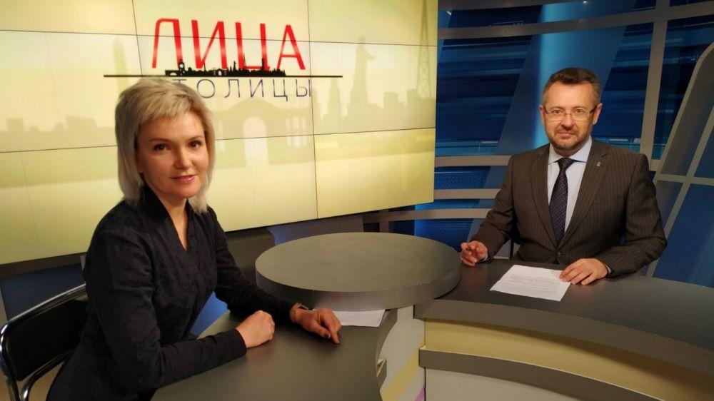 Екатерина Коваленко – гость телепроекта «Лица столицы»