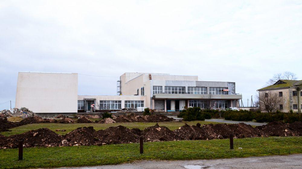 В Черноморском районе капитально ремонтируют три Дома культуры