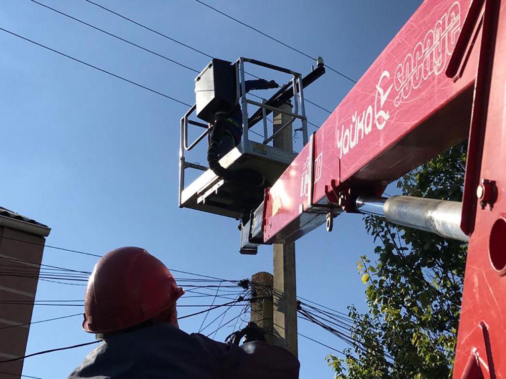 Под Симферополем подвели электроэнергию к шести скважинам