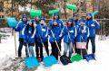 Крымские волонтёры помогут симферопольским коммунальщикам расчистить город от снега