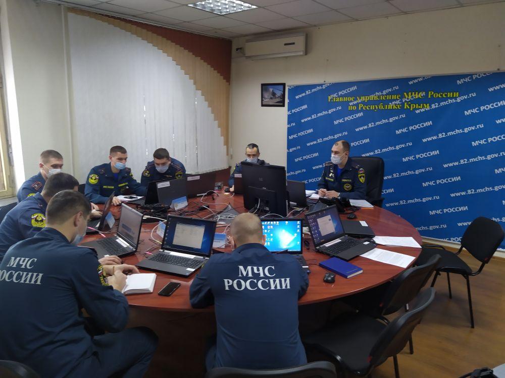 Ситуация с опасными погодными условиями на контроле МЧС России