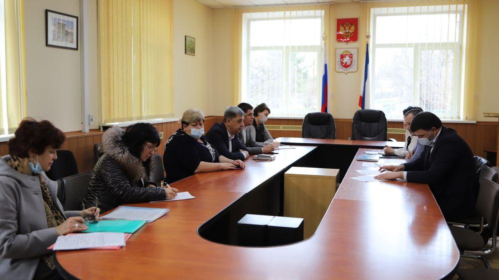 Людмила Пучкова провела рабочую встречу с предприятием ГУП РК «Вода Крыма» и руководством СПК «Союз»