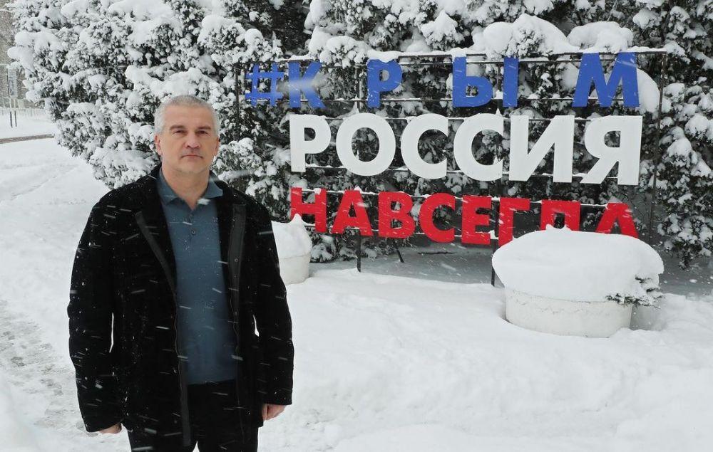 Сергей Аксёнов запустил хэштег #ПутинКрымРоссияНавсегда