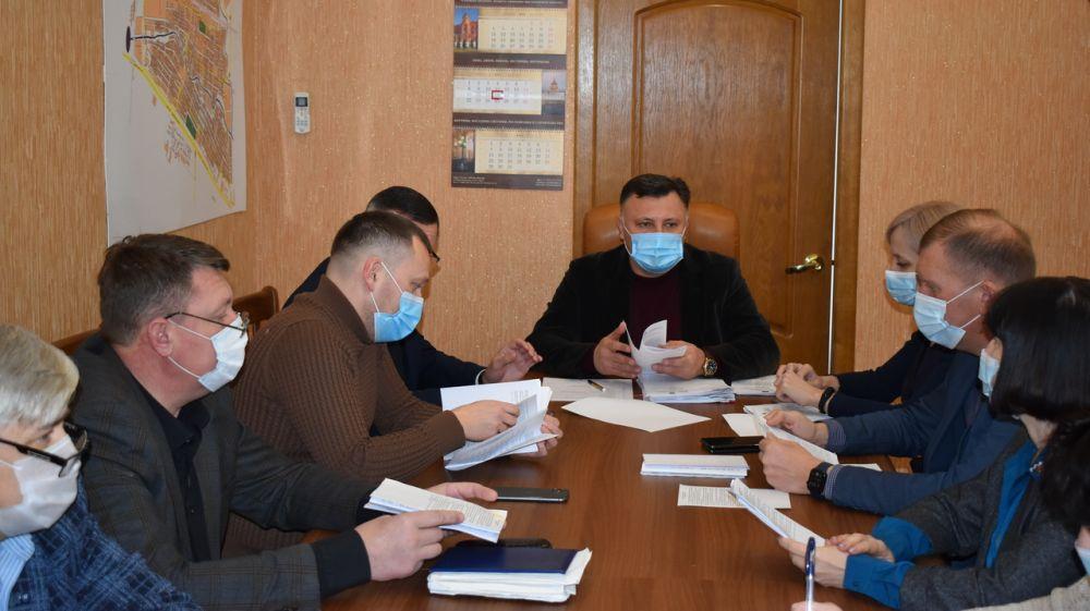 Состоялось заседание Президиума Джанкойского городского совета