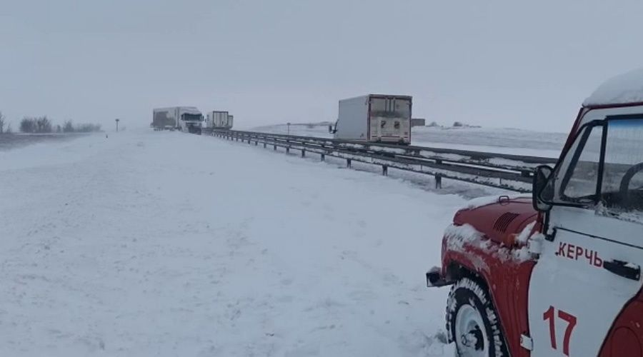Движение по Крымскому мосту открыто в сторону Краснодарского края