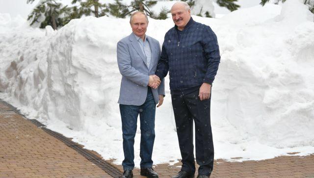 Торговля, вакцина, транспорт: о чем говорили Путин и Лукашенко в Сочи